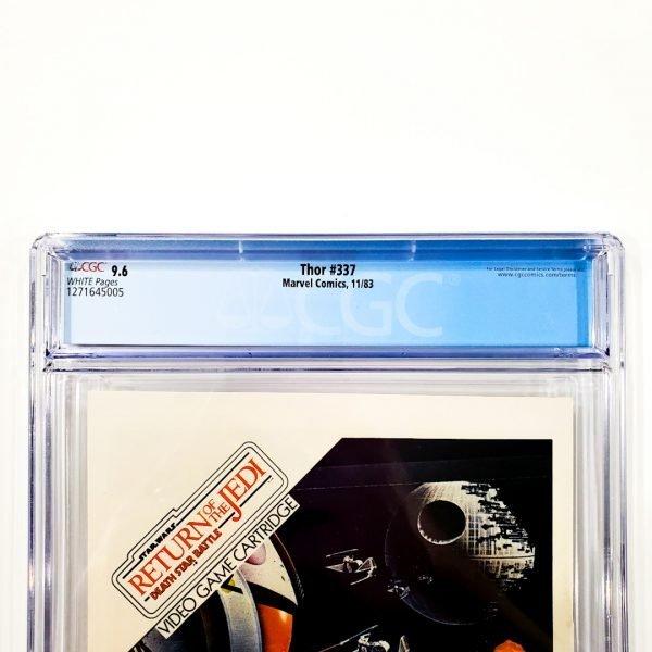 Thor #337 CGC 9.6 NM+ Back Label