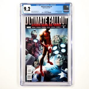 Ultimate Fallout #4 CGC 9.2 NM- Front