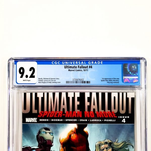 Ultimate Fallout #4 CGC 9.2 NM- Front Label