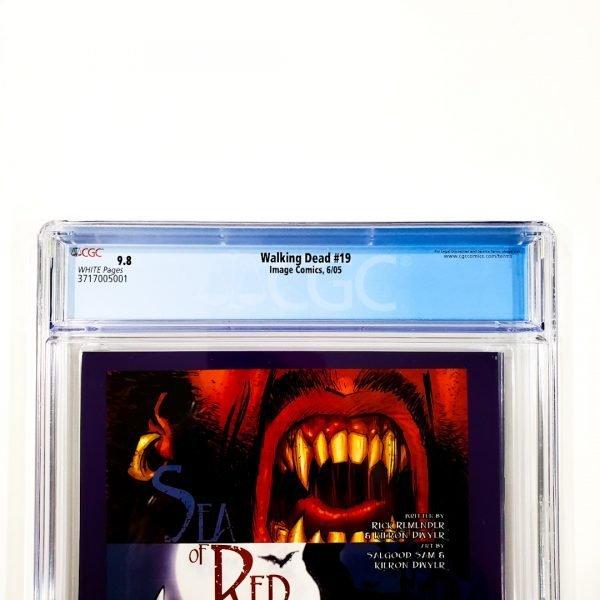 Walking Dead #19 CGC 9.8 NM/M Back Label