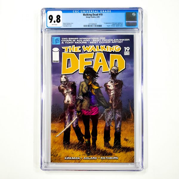 Walking Dead #19 CGC 9.8 NM/M Front