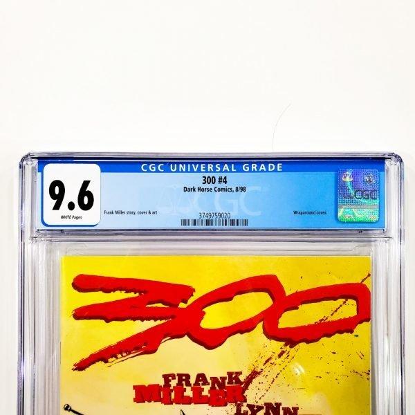 300 #4 CGC 9.6 NM+ Front Label