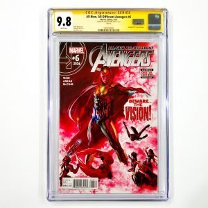 All-New, All-Different Avengers #6 CGC SS 9.8 NM/M Front