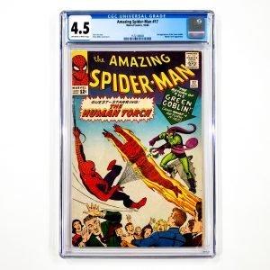 Amazing Spider-Man #17 CGC 4.5 VG+ Front