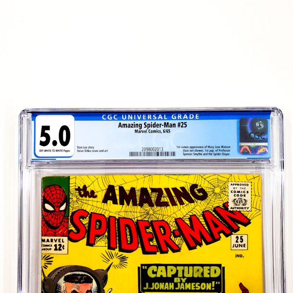 Amazing Spider-Man #25 CGC 5.0 VG/FN Front Label