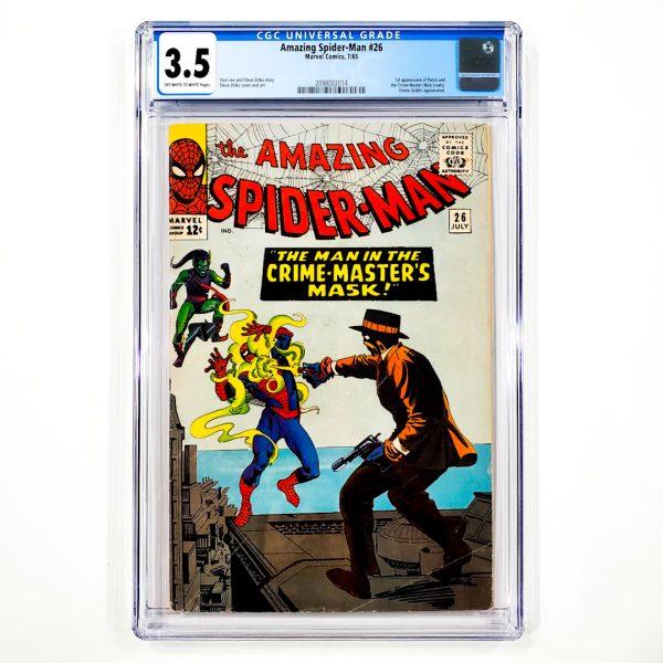 Amazing Spider-Man #26 CGC 3.5 VG- Front