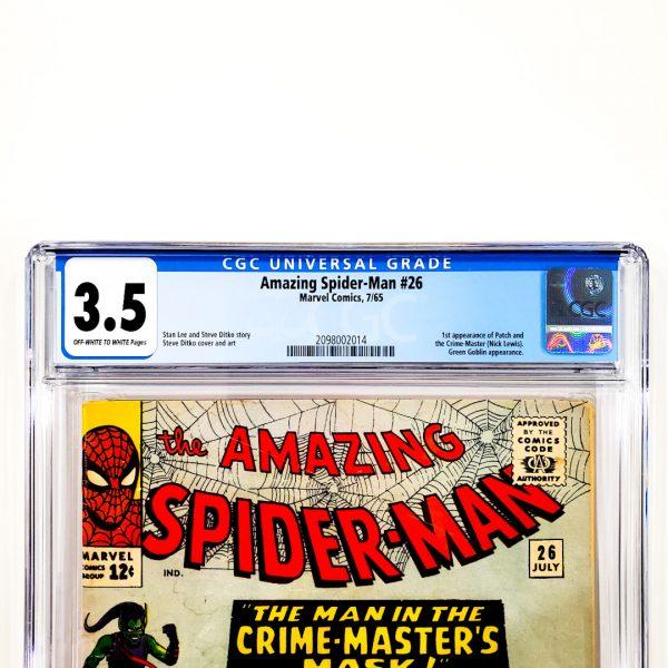 Amazing Spider-Man #26 CGC 3.5 VG- Front Label