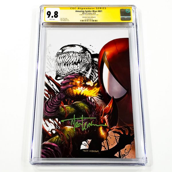 Amazing Spider-Man #801 CGC SS 9.8 NM/M Unknown Comics Variant B Front