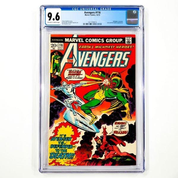 Avengers #116 CGC 9.6 NM+ Front