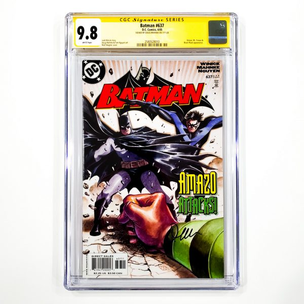 Batman #637 CGC SS 9.8 NM/M Front