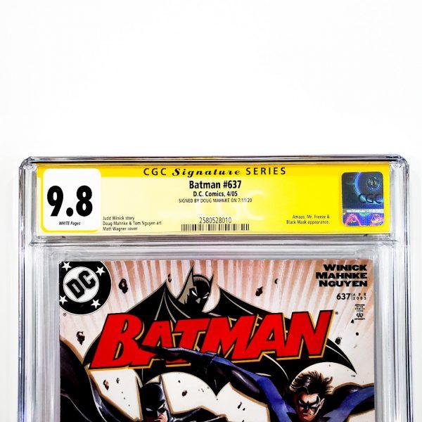 Batman #637 CGC SS 9.8 NM/M Front Label