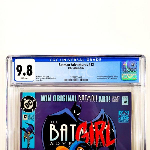 Batman Adventures #12 CGC 9.8 NM/M Front Label
