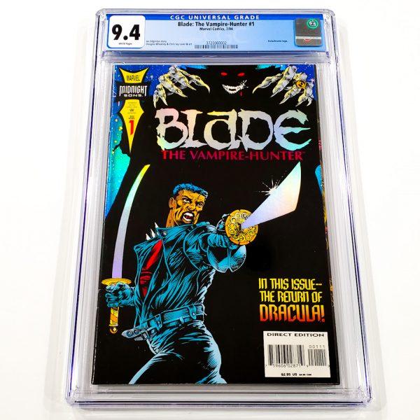 Blade: The Vampire Hunter #1 CGC 9.4 NM Front