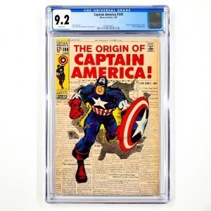 Captain America #109 CGC 9.2 NM- Front