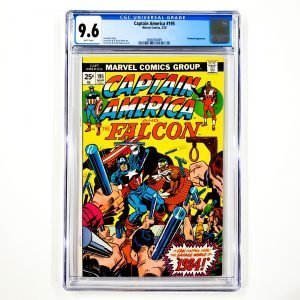 Captain America #195 CGC 9.6 NM+ Front