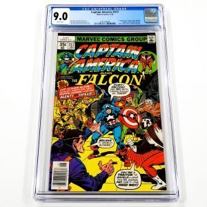 Captain America #217 CGC 9.0 VF/NM Front
