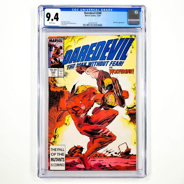 Daredevil #249 CGC 9.4 NM Front