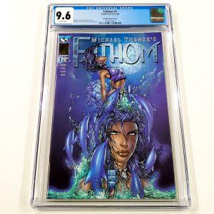 Fathom #1 CGC 9.6 NM+ Dolphin Variant Front