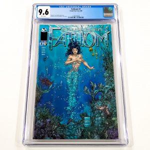 Fathom #1 CGC 9.6 NM+ Front