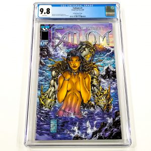 Fathom #1 CGC 9.8 NM/M Killian Variant Front