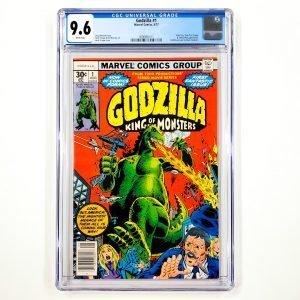 Godzilla #1 CGC 9.6 NM+ Front