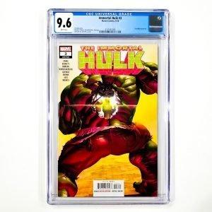 Immortal Hulk #3 CGC 9.6 NM+ Front