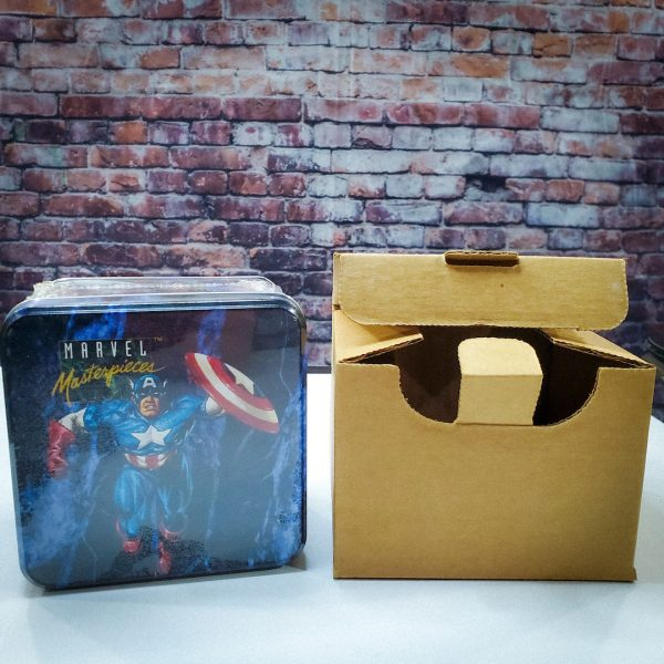 Marvel Masterpieces Series 1 Tin Factory Sealed Shipping Box