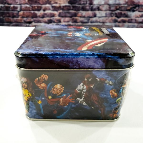 Marvel Masterpieces Series 1 Tin Factory Sealed Side 2