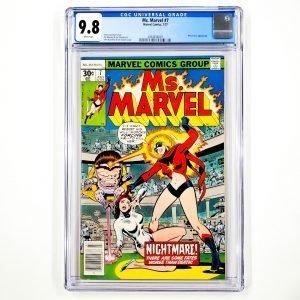 Ms. Marvel #7 CGC 9.8 NM/M Front