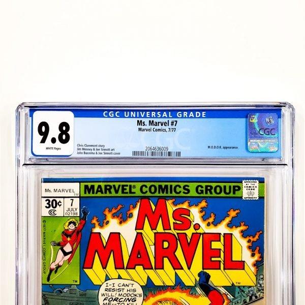 Ms. Marvel #7 CGC 9.8 NM/M Front Label