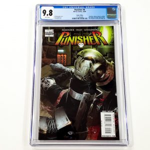 Punisher (2009) #8 CGC 9.8 NM/M Variant Front
