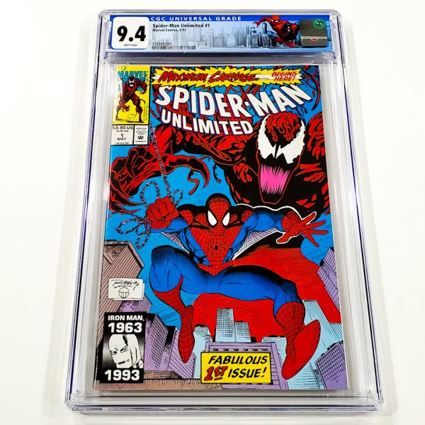 Spider-Man Unlimited #1 CGC 9.4 NM Front