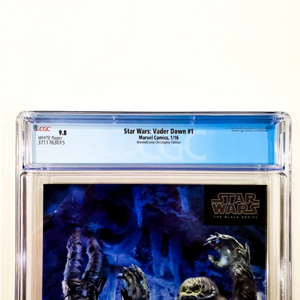 Star Wars: Vader Down #1 CGC 9.8 NM/M WantedComix Variant Back Label