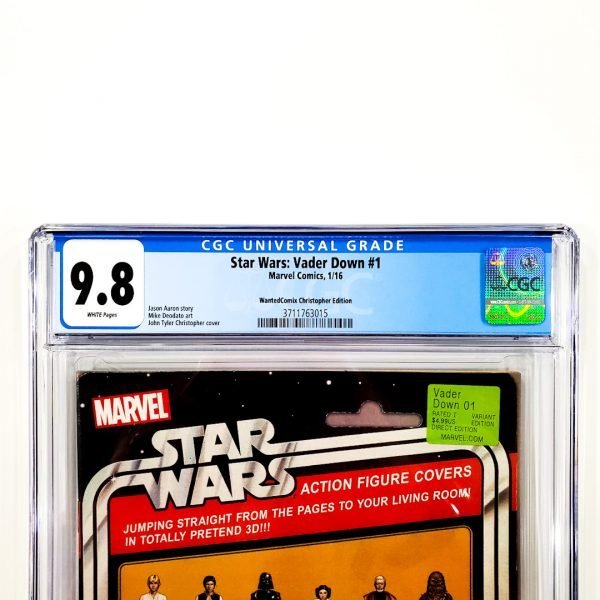 Star Wars: Vader Down #1 CGC 9.8 NM/M WantedComix Variant Front Label
