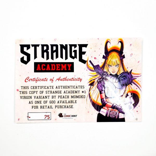 Strange Academy #1 CGC SS 9.8 NM/M Comic Mint Edition B Momoko COA