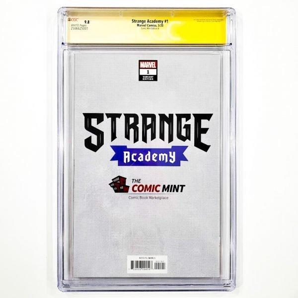 Strange Academy #1 CGC SS 9.8 NM/M Comic Mint Edition B Momoko Back