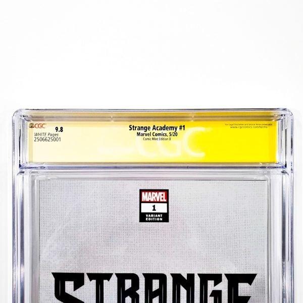 Strange Academy #1 CGC SS 9.8 NM/M Comic Mint Edition B Momoko Back Label