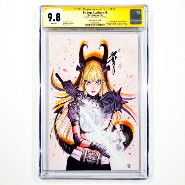 Strange Academy #1 CGC SS 9.8 NM/M Comic Mint Edition B Momoko Front