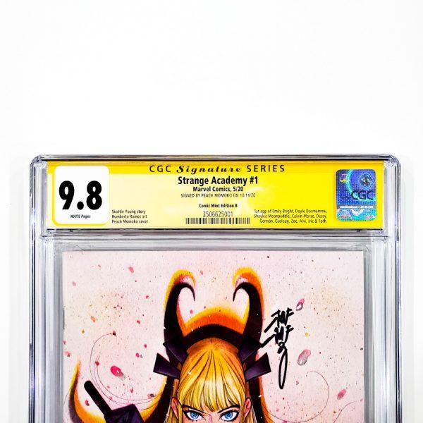 Strange Academy #1 CGC SS 9.8 NM/M Comic Mint Edition B Momoko Front Label