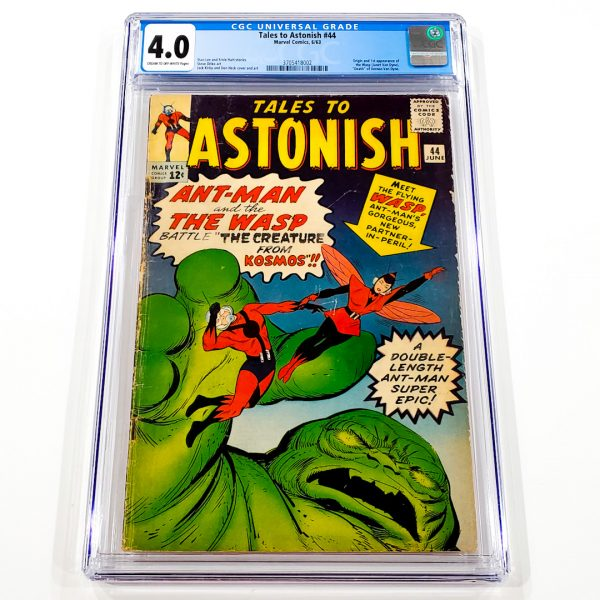 Tales to Astonish #44 CGC 4.0 VG Front