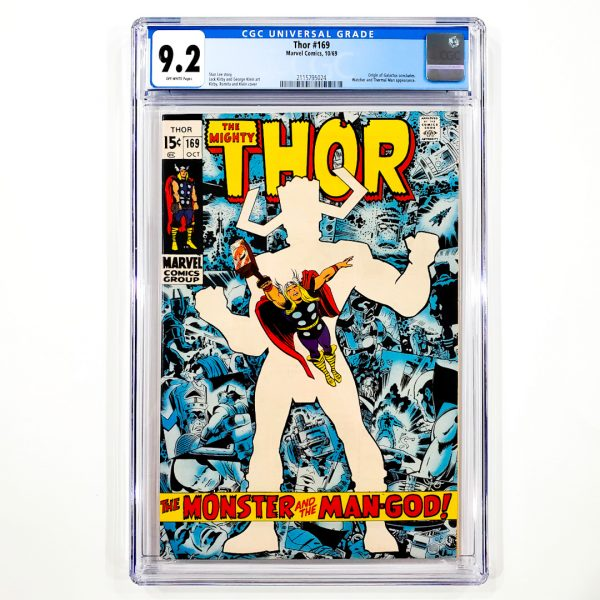 Thor #169 CGC 9.2 NM- Front