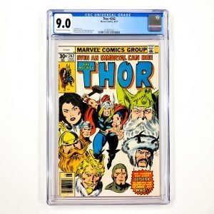 Thor #262 CGC 9.0 VF/NM Front