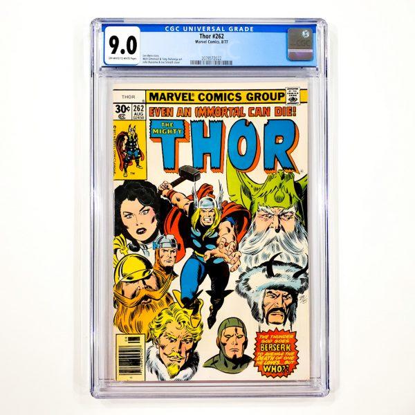 Thor #262 CGC 9.0 VF/NM Front