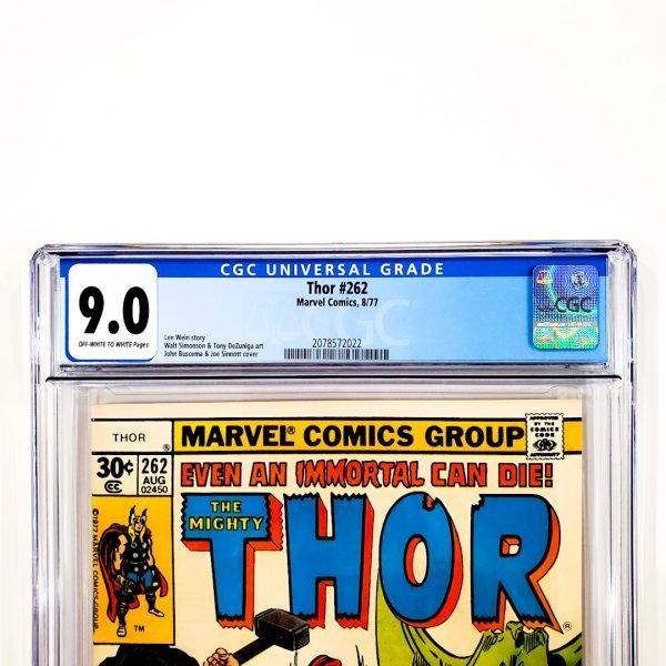 Thor #262 CGC 9.0 VF/NM Front Label