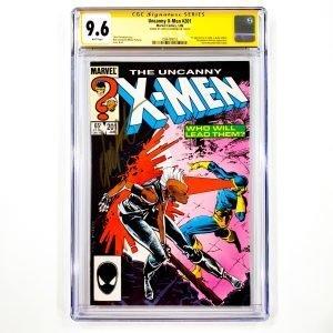 Uncanny X-Men #201 CGC SS 9.6 NM+ Front
