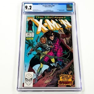 Uncanny X-Men #266 CGC 9.2 NM- Front