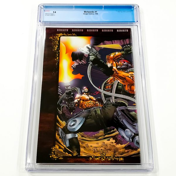 Wetworks #1 CGC 9.8 NM/M Back