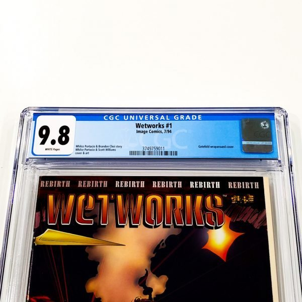 Wetworks #1 CGC 9.8 NM/M Front Label