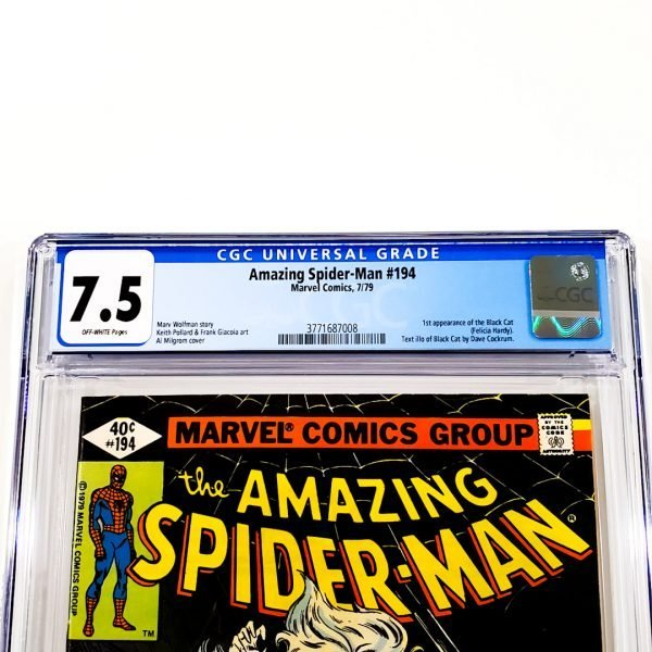Amazing Spider-Man #194 CGC 7.5 VF- Front Label