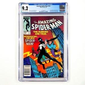 Amazing Spider-Man #252 CGC 9.2 NM- Front